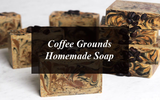 Coffee Grounds Homemade Soap