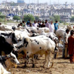 Federal Government Officially Announces Eid-ul-Adha 2016 Holidays in Pakistan