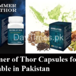 Hammer of Thor Capsules for Men Available in Pakistan