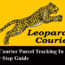 Leopards Courier Parcel Tracking In Pakistan—Step By Step Guide
