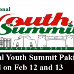 National Youth Summit Pakistan to be Held on Feb 12 and 13