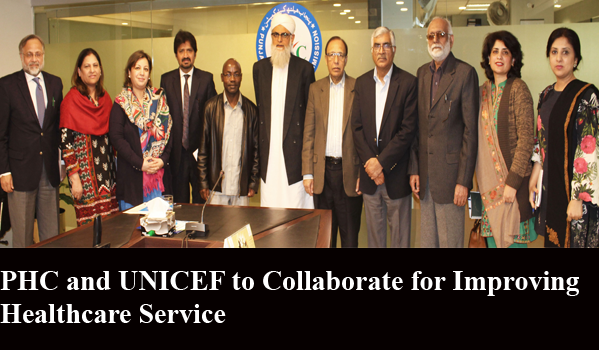 PHC and UNICEF to Collaborate for Improving Healthcare Service