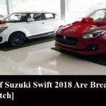 Pictures of Suzuki Swift 2018 Are Breathtaking [Must Watch]