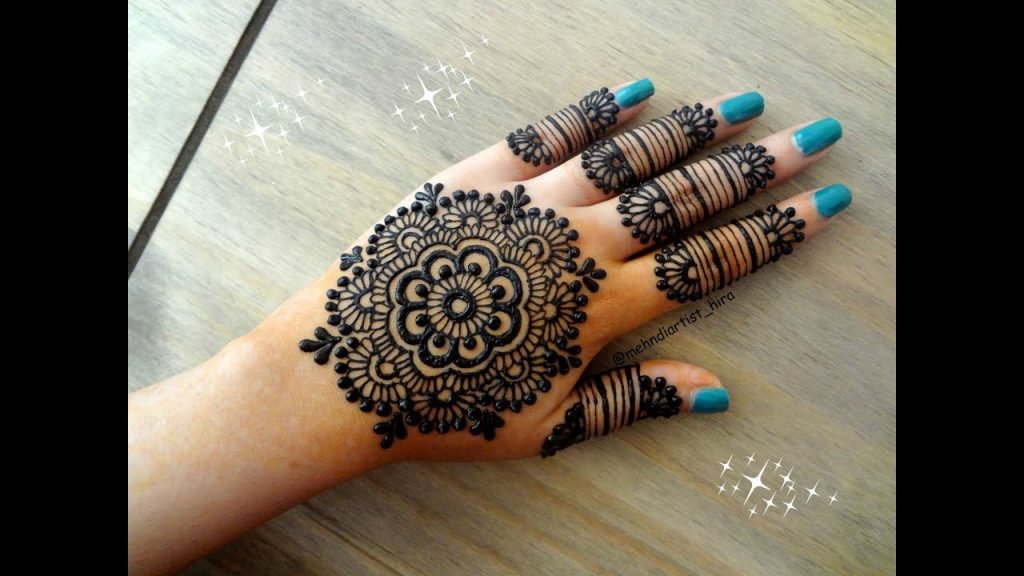 Latest Mehndi Designs For Eid 2018: Hands and Feet