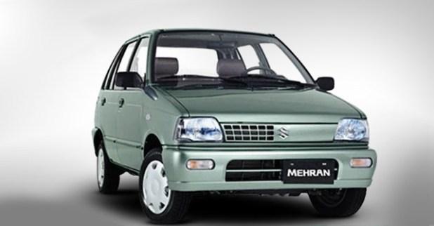 No More Suzuki Mehran VX From December 2018