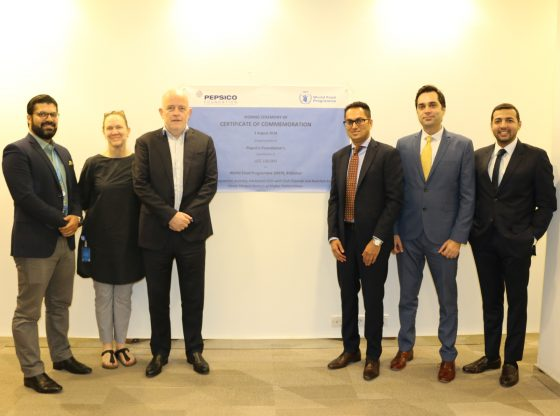 PepsiCo Foundation announces $100,000 Grant to World Food Programme for School-Going Girls in KPK