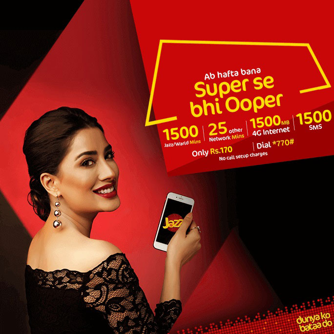 Mobilink Jazz Call Packages: Daily, Weekly and Monthly