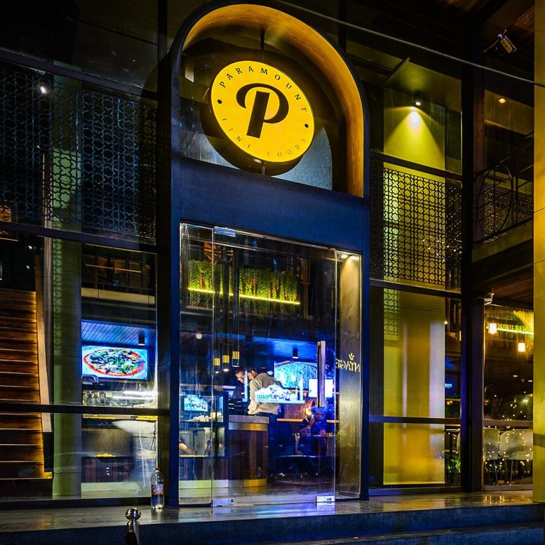 Feel the Gotham City Vibes in Paramount Restaurant in Karachi