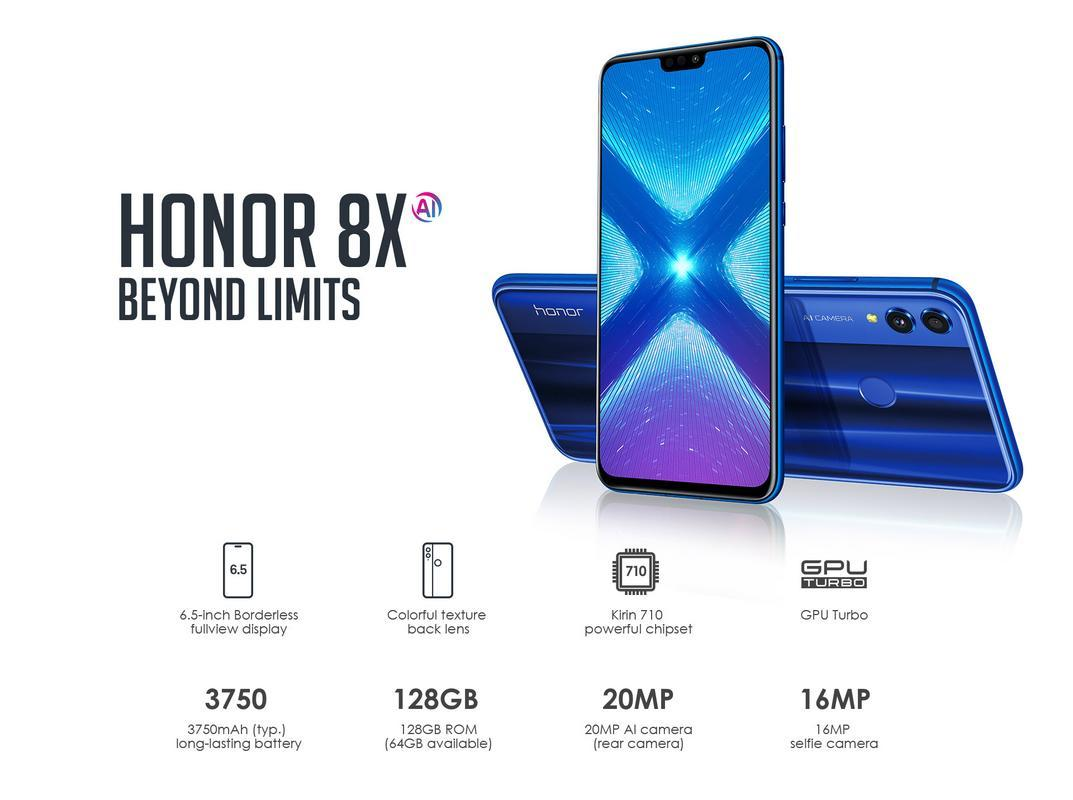 Huawei Honor 8X Officially Up For Sale Price in Pakistan & Specifications