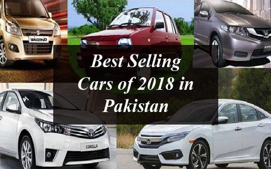 Best Selling Cars of 2018 in Pakistan