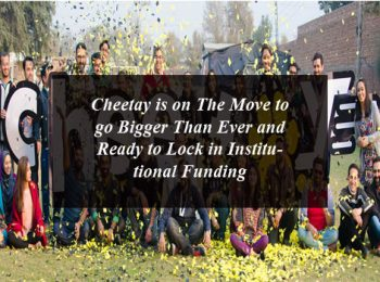 Cheetay is on The Move to go Bigger Than Ever and Ready to Lock in Institutional Funding