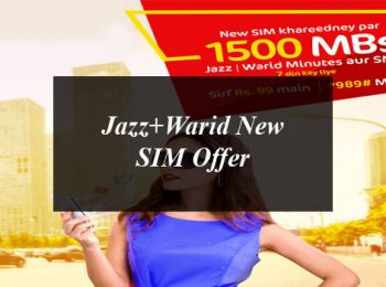 Jazz+Warid New SIM Offer