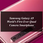 Samsung Pakistan Launches the World's First Ever Quad Camera Smartphone Galaxy A9