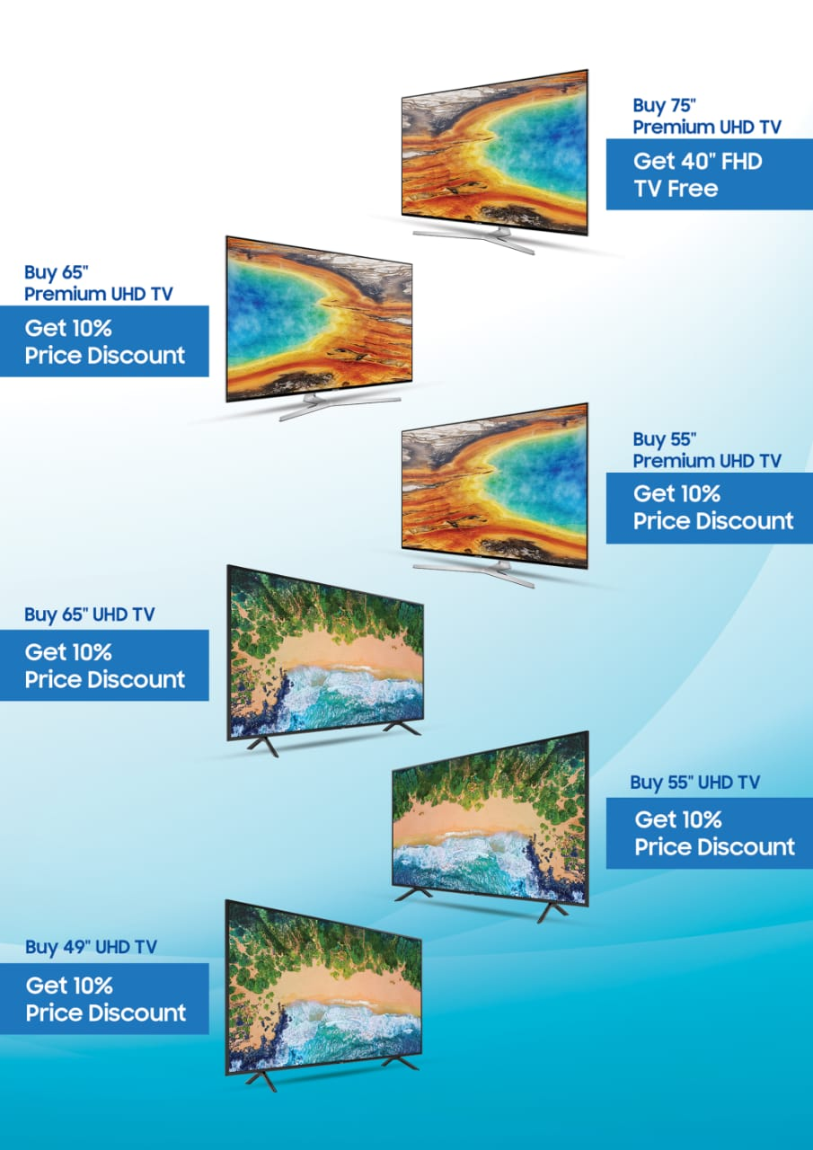 Samsung Introduces Limited Time Offer for its Exclusive Television Line-up