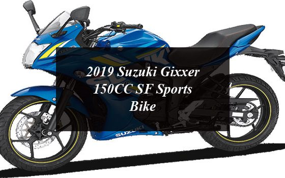 2019 Suzuki Gixxer 150CC SF Sports Bike
