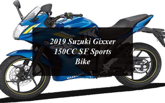 2019 Suzuki Gixxer 150CC SF Sports Bike