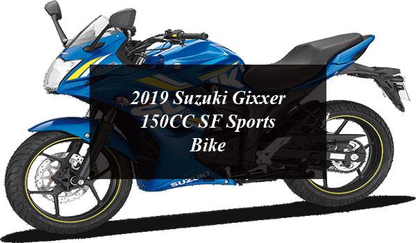 2019 Suzuki Gixxer 150CC SF Sports Bike Will Soon be Available in Pakistan