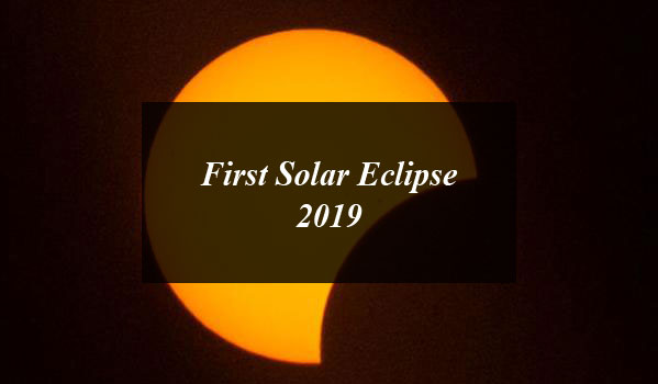 First Solar Eclipse 2019 (Suraj Grahan) to be on January 6