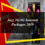 Jazz 3G/4G Internet Packages 2019: Daily, Weekly and Monthly For Prepaid and Postpaid Customers