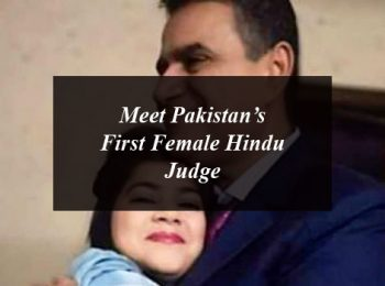 Meet Pakistan's First Female Hindu Judge