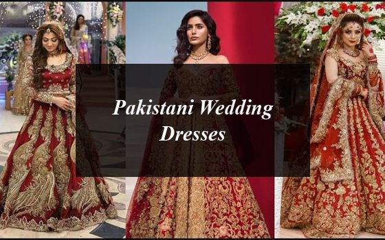 Pakistani Wedding Dresses By Famous Fashion Designers