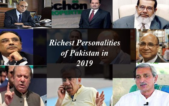 Richest Personalities of Pakistan in 2019
