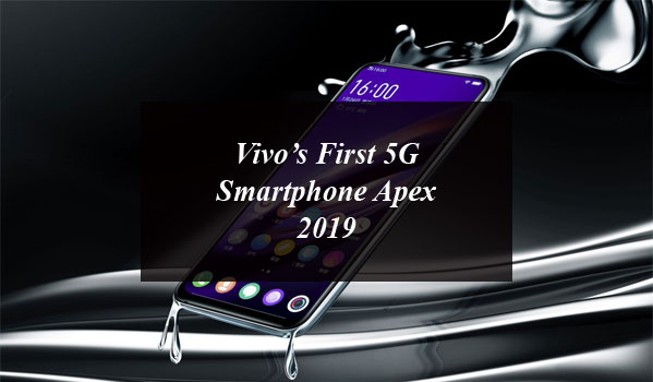 Vivo's First 5G Smartphone Apex 2019 Includes Full-Screen Fingerprint Reader and Not a Single Port