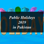 Public Holidays 2019 in Pakistan