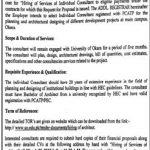Jobs In University Of Okara [11th March 2019]