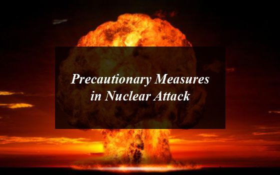 Precautionary Measures in Nuclear Attack