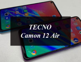 TECNO Camon 12 Air Is Another Outstanding Smartphone With Amazing Features