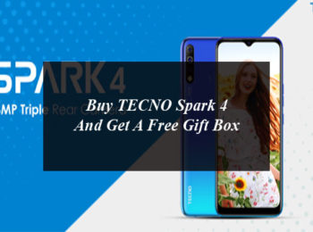 Buy TECNO Spark 4 And Get A Free Gift Box