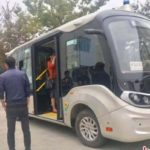 <div>China's first 5G automatic micro bus to be launched on Oct 20</div>