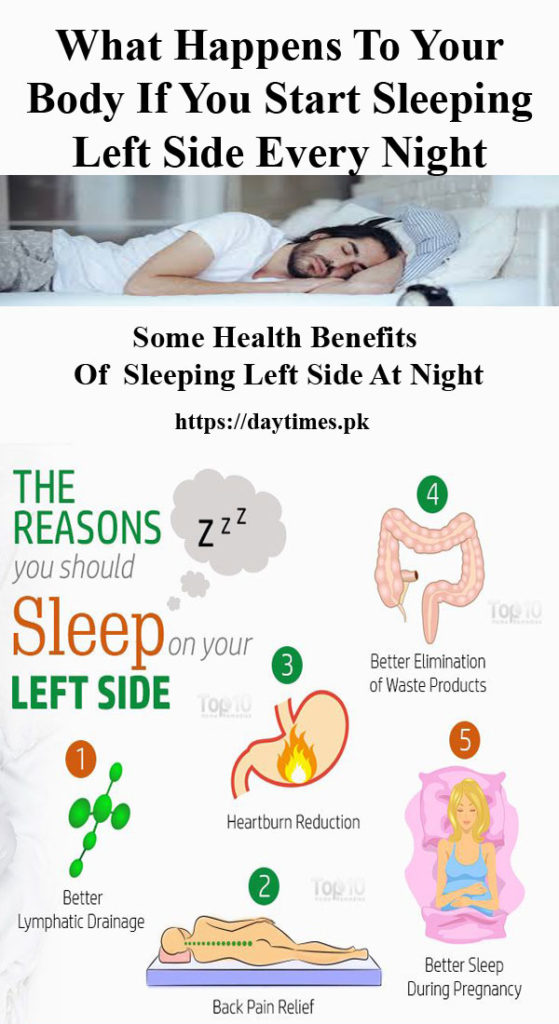 Do You Know What Happens To Your Body If You Start Sleeping Left Side Every Night Daytimes Pk