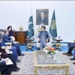 China's NDRC vice chairman calls on PM Khan